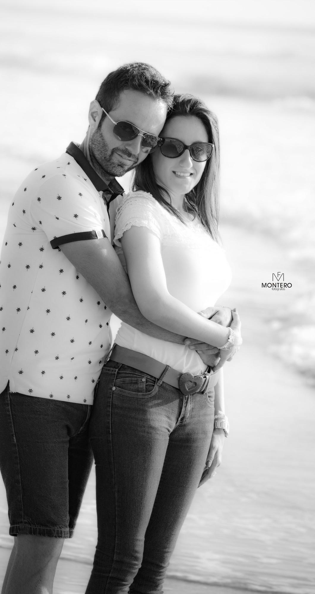 Pre boda en la playa